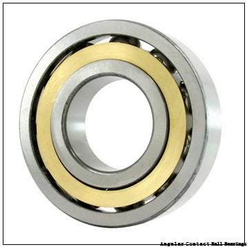 2.953 Inch | 75 Millimeter x 5.118 Inch | 130 Millimeter x 1.626 Inch | 41.3 Millimeter  CONSOLIDATED BEARING 5215 N  Angular Contact Ball Bearings