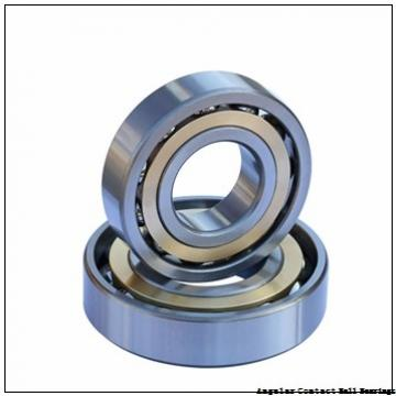 2.756 Inch | 70 Millimeter x 4.921 Inch | 125 Millimeter x 1.563 Inch | 39.7 Millimeter  EBC 5214  Angular Contact Ball Bearings