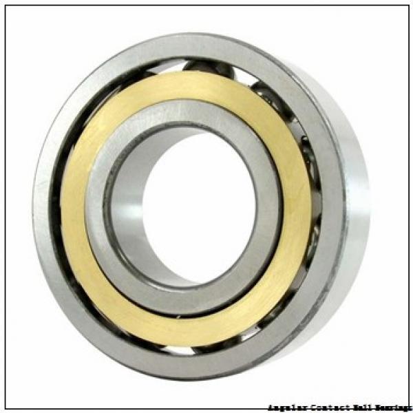 0.669 Inch   17 Millimeter x 1.575 Inch   40 Millimeter x 0.689 Inch   17.5 Millimeter  CONSOLIDATED BEARING 5203 B N  Angular Contact Ball Bearings #1 image