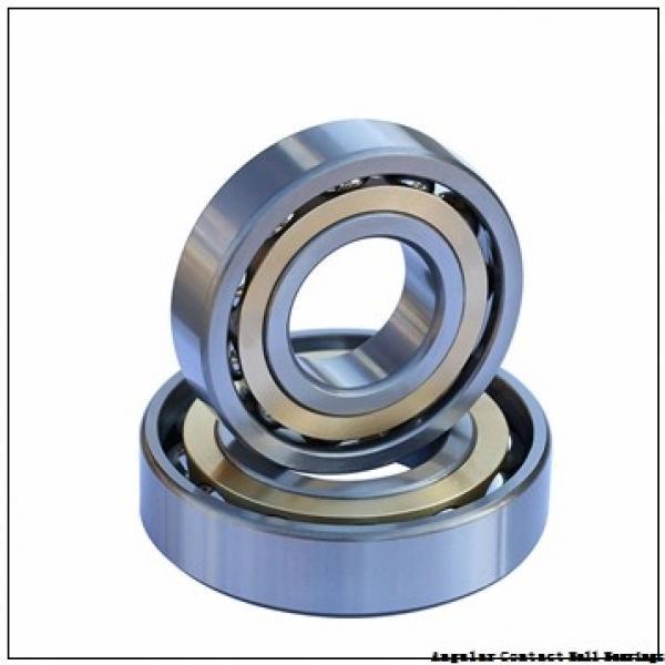 1.969 Inch | 50 Millimeter x 4.331 Inch | 110 Millimeter x 1.748 Inch | 44.4 Millimeter  CONSOLIDATED BEARING 5310 B N C/3  Angular Contact Ball Bearings #2 image